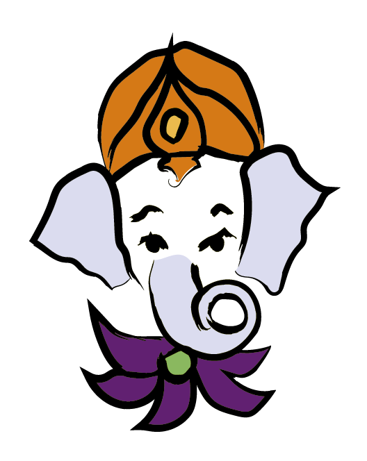 Yoga Studio Ganesha Logo